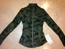 **NWT LULULEMON FORME JACKET II SAVASANA CAMO SZ 4 Sold Out!!