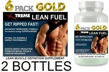 2x Strong Fat Loss Fat Burner Pills Slimming Diet  Energy Lean Fuel  Muscle Abs