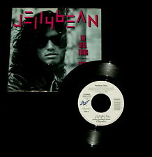 """JELLYBEAN """"THE REAL THING/Am I Dreaming"""" CHRYSALIS 43167 (1987) 45 & PS (M/M)"""