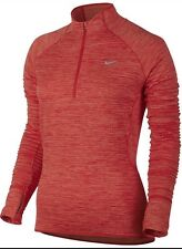 Nike Element Sphere Half Zip Running Training  Top Women's Uk Large (686963 698)