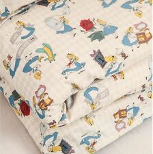 Disney Alice in Wonderland Character Cotton Fabric made in Korea by Half Yard