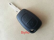 Renault Trafic Vivaro Primastar Kangoo 2 Button Remote Key Fob Case and Blade