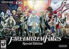 NEW Fire Emblem Fates Special Edition Limited Collector's Nintendo 3DS USA RARE