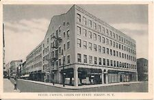 Hotel Capitol Green Off State Albany NY Roadside Postcard