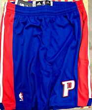 Adidas Authentic NBA Shorts Pistons Team Blue sz 2X