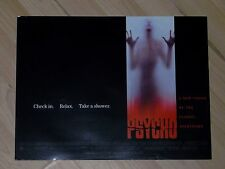 RARE PSYCHO ORIGINALE 30x40cm CINEMA MOVIE FILM POSTER 1998