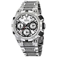 Festina F16774-1 Mens 2014 Chrono Bike Tour De France Silver Watch RRP £285