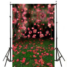 5x7ft Flower Spring Grass Photography Backdrop Background Photo Props