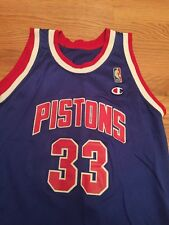 NBA Vintage Champion Jersey Youth XL Grant Hill #33 Detroit Pistons 18-20