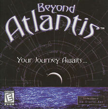 BEYOND ATLANTIS Your Jouney Awaits Original PC Game NEW