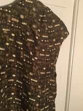 Orla Kiely Adorable Train Print Blouse Euc Small