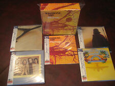 WISHBONE ASH RARE 5 LP Replica JAPAN OBI AUDIOPHILE CD PILGRIMAGE COVER Box Set