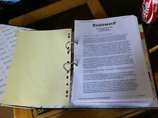 Downward Large Folder Novel Fan Fiction Legend of the Five Rings L5R