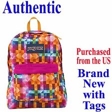Jansport SUPERBREAK CLASSIC Backpack MULTI SPECTRUM - Travel School Bag
