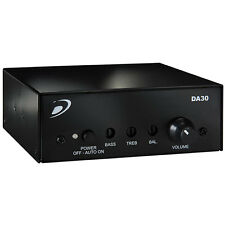 Dayton Audio DA30 2x15W Class D Bridgeable Mini Amplifier