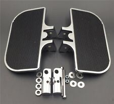 Chrome Floorboards Rear  FootPegs Mounts Fit Harley-Davidson Electra Glide