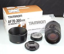 181565 TAMRON 70-300MM 4-5.6 DI LD MACRO 1:2 NIKON F MOUNT ZOOM LENS NEW