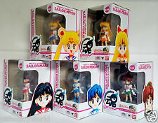 BANDAI TAMASHII BUDDIES Pretty Guardian SAILOR MOON VENUS MARS MERCURY & JUPITER