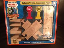 THOMAS THE TANK WOODEN RAILWAYS DELUXE TRACK ACCESSORY SET BRAND NEW SEALED