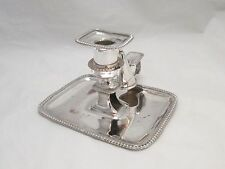 A Fine Old Sheffield Plated Chamber Candlestick - c1820