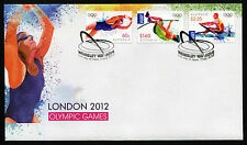 2012 London Olympic Games International FDC First Day Cover Stamps Australia