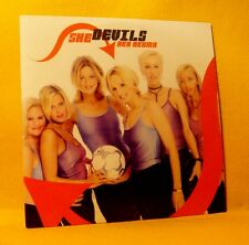 Cardsleeve single CD She Devils Aka Akuma 2TR 2002 Europop Belgian Football RARE