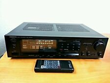 Onkyo TX-82 Vintage Tuner Stereo Amplifier Quartz Synthesized. 2 Months Warranty