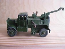 vintage dinky toys diecast Army Recovery Tractor #661