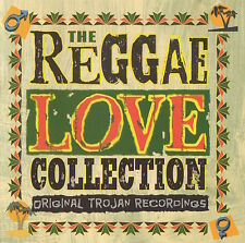 THE REGGAE LOVE COLLECTION - ORIGINAL TROJAN RECORDINGS - JOHN HOLT ETC.- CD