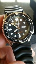 Seiko Automatic Diver SKX007K1 SKX007K Rubber Band Men's Watch