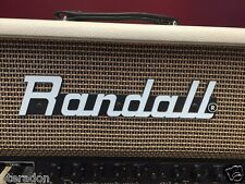 Randall RM100CRP Palamino 100 watt tube Modular Head, cream tolex, w/ 3 modules