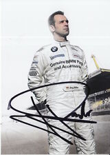 Jorg Muller Hand Signed BMW Promo Card Touring Cars.