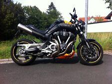 MT-01 MT01 Original Yamaha Hitzeschutz Carbon Heat shield !!! NEU !!!! New !!!