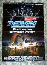 RED WING / Starship * A1-FILMPOSTER - German 1-Sheet ´85 SCI-FI