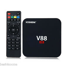 SCISHION V88 TV Box RK3229 Quad Core 4K WIFI HDMI 1G/8G Android Media Player UK