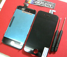 DISPLAY LCD +VETRO TOUCH SCREEN PER APPLE IPHONE 4S GRADE AAA+RETINA NUOVO NERO