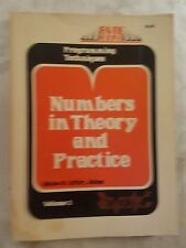 Byte Books Numbers In Theory and Practice  Volume 3 1977 RARE!!!! 181 Pages