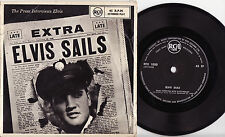 ELVIS PRESLEY - ELVIS SAILS Megarare 1958 NZ EP Release! Almost never seen!