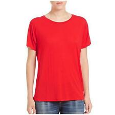 NWT RAG & BONE JEAN Red Concert Tee Sz S Short Sleeve $95 Micro Modal Tissue top