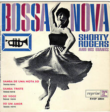 SHORTY ROGERS AND HIS GIANTS BOSSA NOVA FRENCH ORIG EP