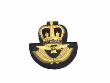 ROYAL AIR FORCE WARRANT OFFICERS CAP BADGE - BRAND NEW - SINGLE BADGE