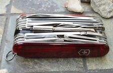 Victorinox SWISSCHAMP XLT Ruby Original Swiss Army Knife 53504 NEW! Authentic
