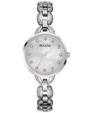 Bulova Women's 96L203 'Crystal' Stainless steel Watch
