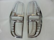 Chrome TAIL LAMP Cover Molding:2P Made Korea Fit Hyundai GRAND STAREX:iMAX,H1