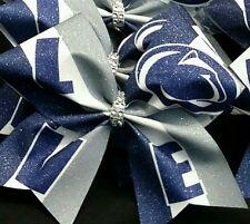 Cheer Bow - Penn State  - Hair Bows