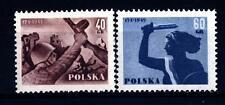 POLAND - POLONIA - 1955 - 500° Anniversario dei guadagni territoriali per la sec
