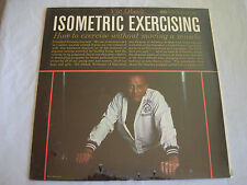 ISOMETRIC EXERCISING VIC OBECK lp RIVERSIDE RLP 7521  ~SEALED~