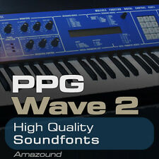 PPG WAVE 2 SOUNDFONT COLLECTION 256 .sf2 FILES 2048 SAMPLES BEST VALUE