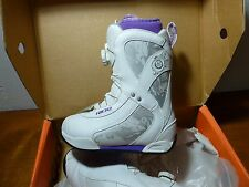 Ride Sage Boa Women's 5 Snowboard Boots White New in Box!
