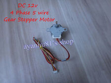 New Gear Stepper Motor 24BYJ48 DC 12V 4 Phase 5 wire Step Reduction Motor